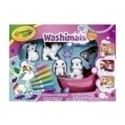 JUEGO CRAYOLA WASHIMALS SET...