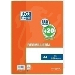 PAPEL OXFORD A4 200h LISO...